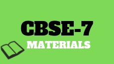 CBSE Class 7 Resources
