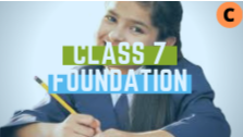 IIT/Medical Foundation-Class 7