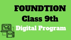 IIT/Medical Foundation-Class 9th
