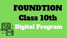 IIT/Medical Foundation-Class 10th
